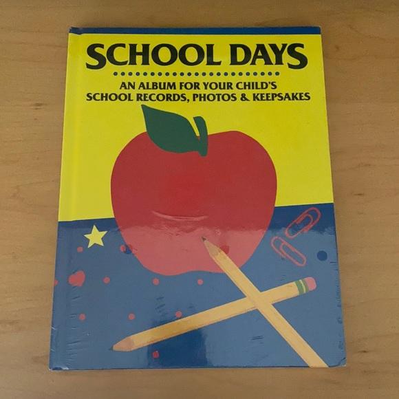 SCHOOL DAYS. An Album For Your Child's Keepsakes